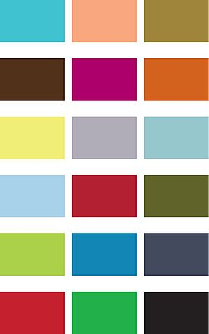 Giveaway colors