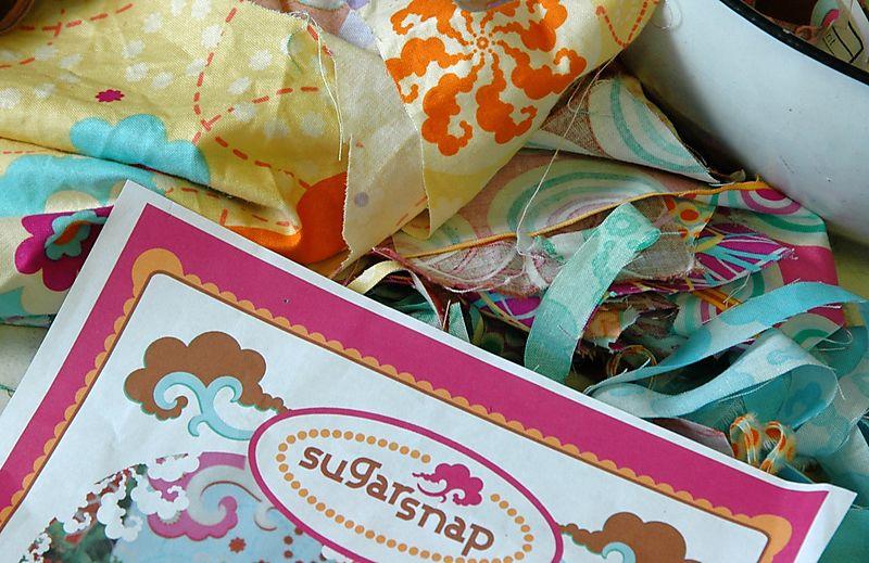 Sugar snap scraps