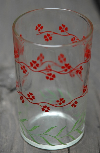 Vintage flower glass3