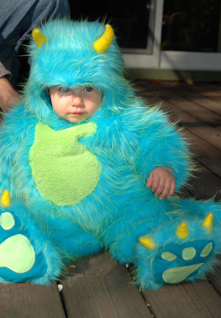 aurora monster 4 - Monsters Inc Baby Halloween Costumes