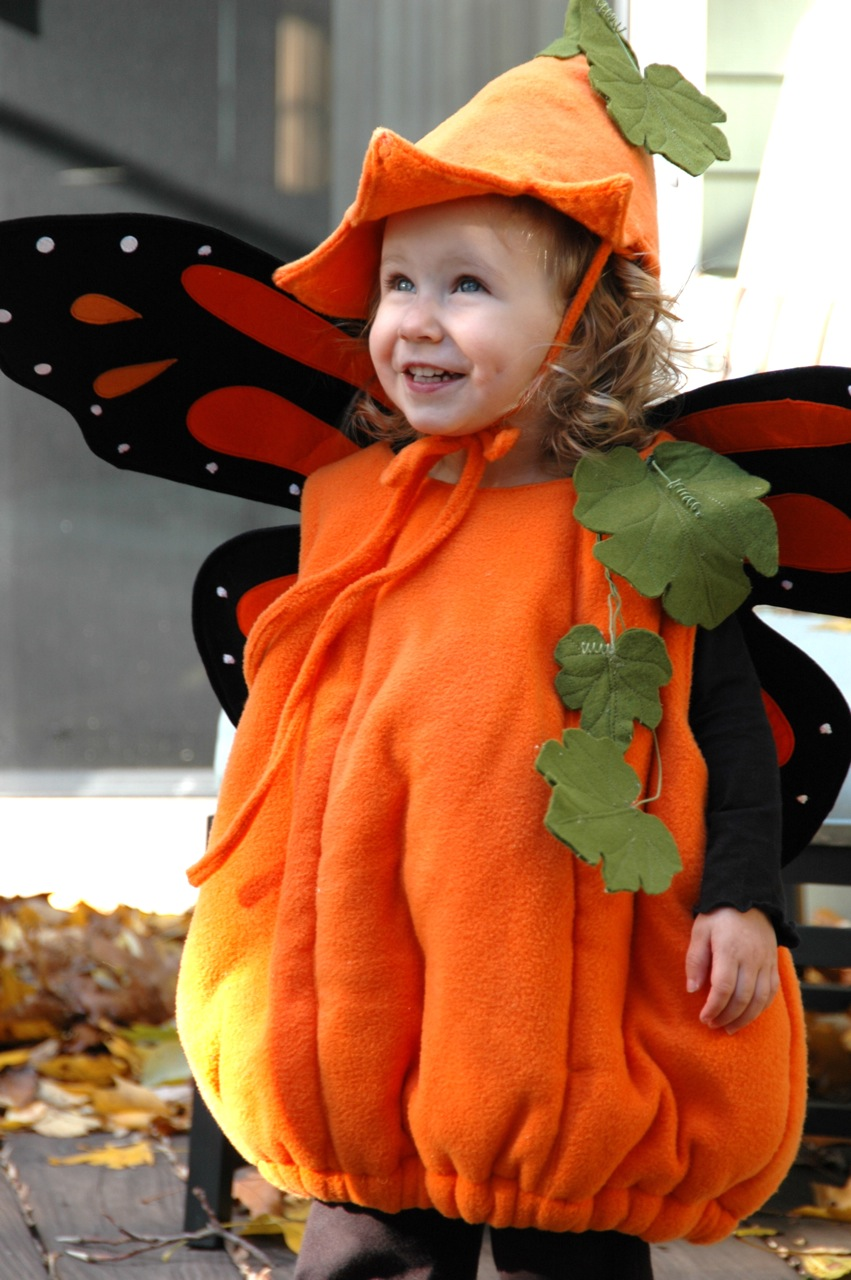 Pumpkin costume 5