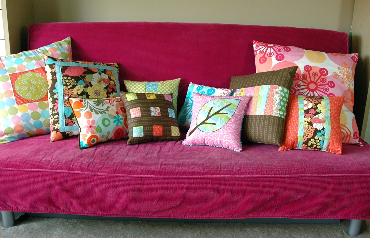 Pillows all