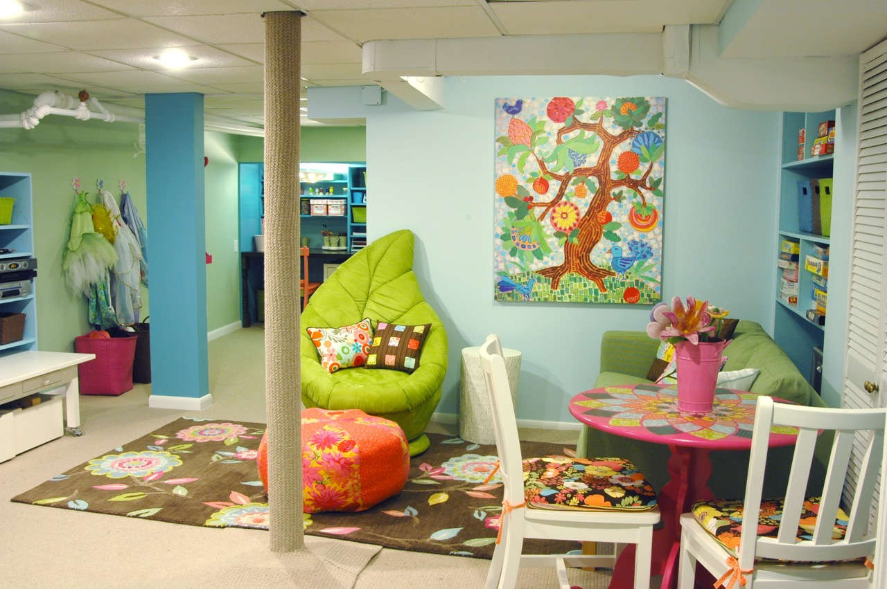 Playrooms For Toddlers Remodelaholic  Home Sweet Home On A Budget Bloggers' Basement