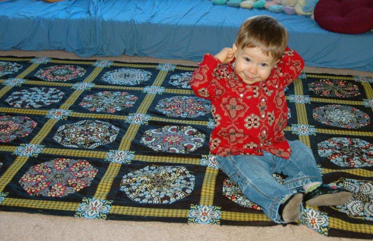 Stack quilt Theo 1
