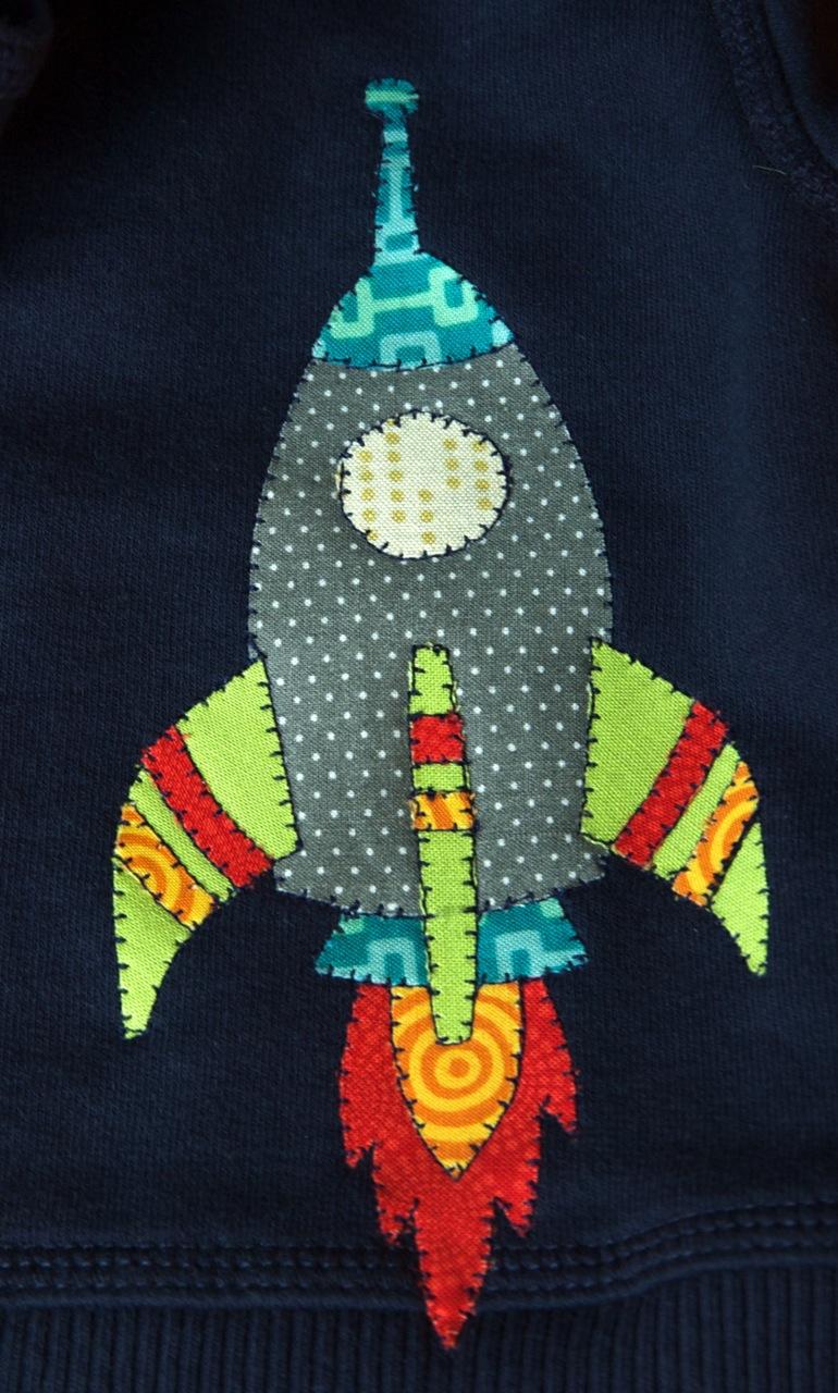 Rocket sweatshirt 2