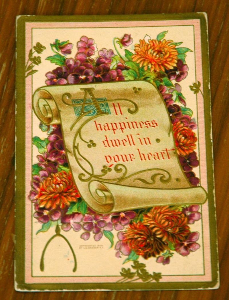 Vintage card 1