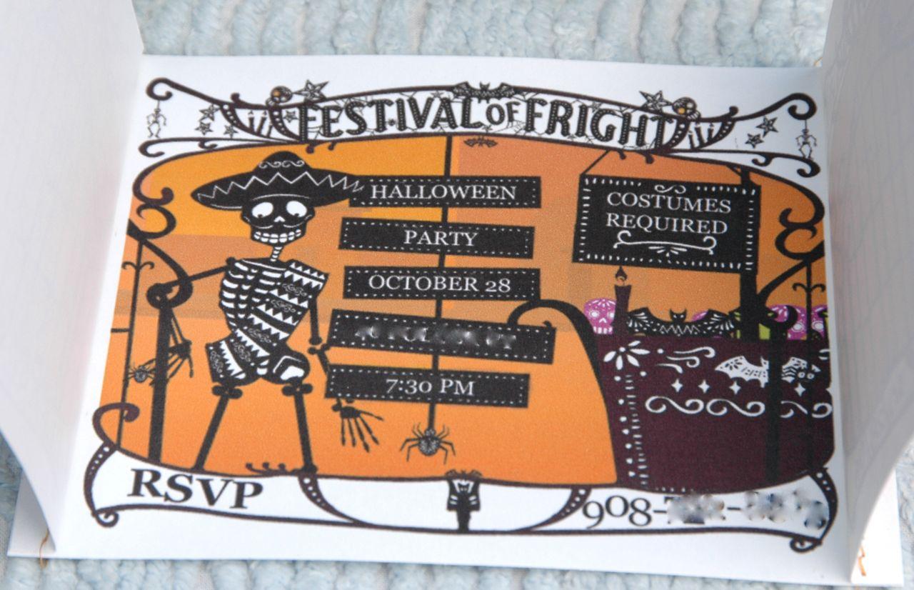 Halloween invite 2
