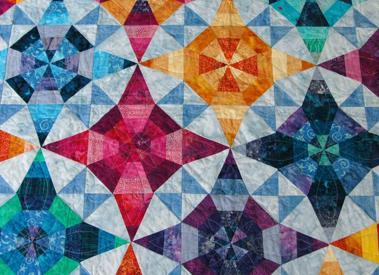Kalidescope quilt 3