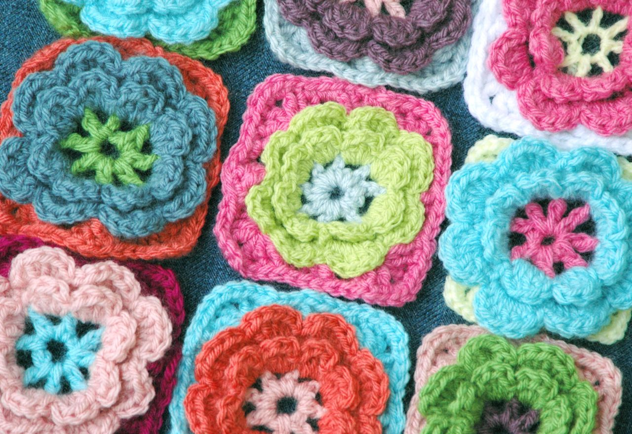 Flower pillow 2