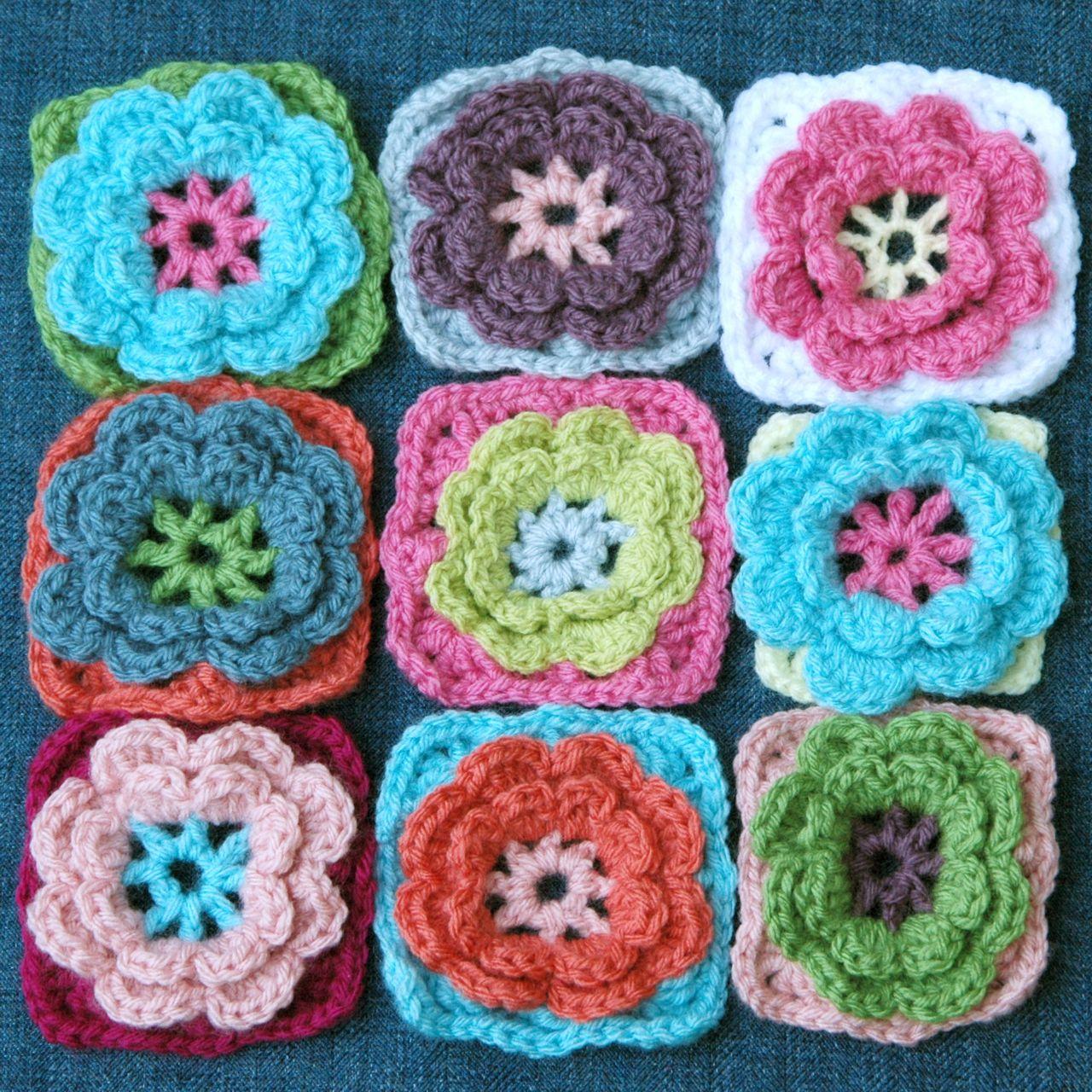 Flower pillow 1