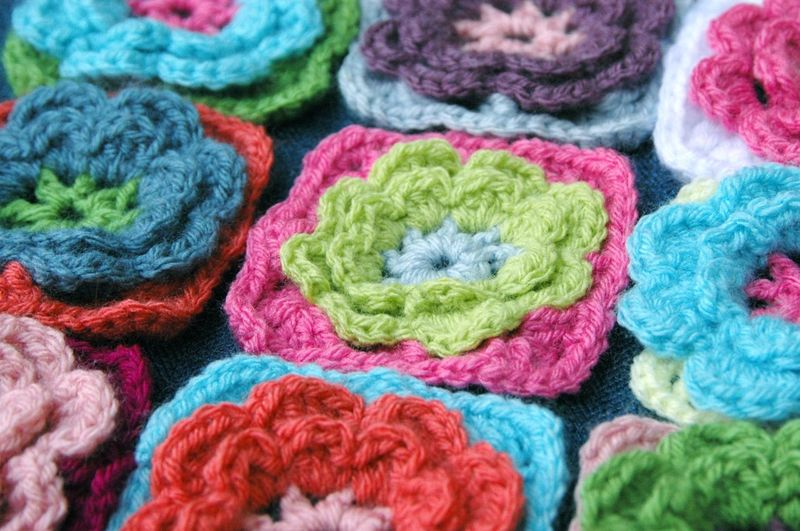 Flower pillow 3