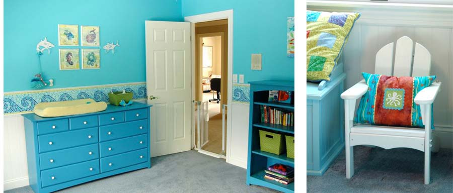 Theo's room collage 2