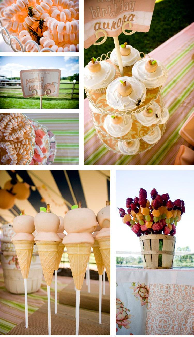 Peach collage 2