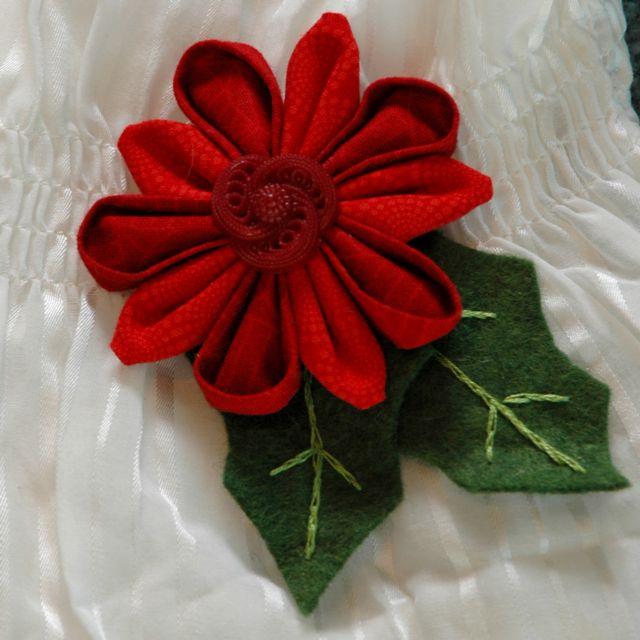 Xmas flower 1