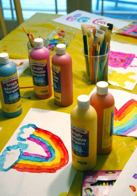 Rainbow paint 3