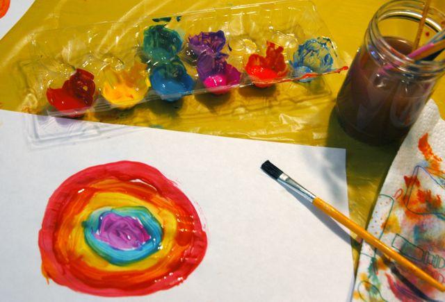 Rainbow paint 1