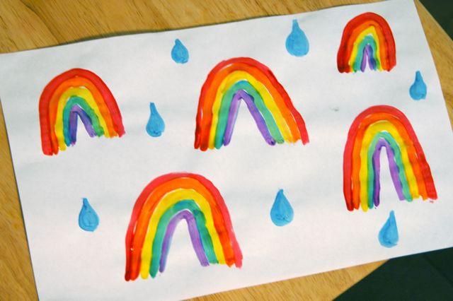 Rainbow paint 4