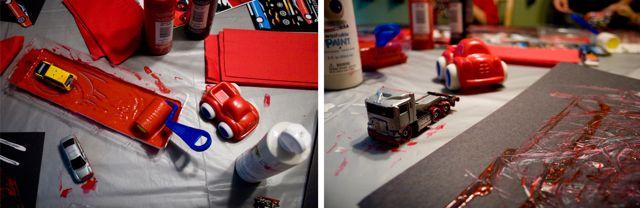 Race car collage 4