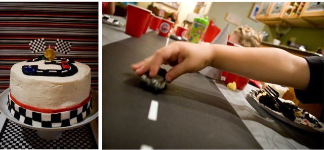 Race car collage 6