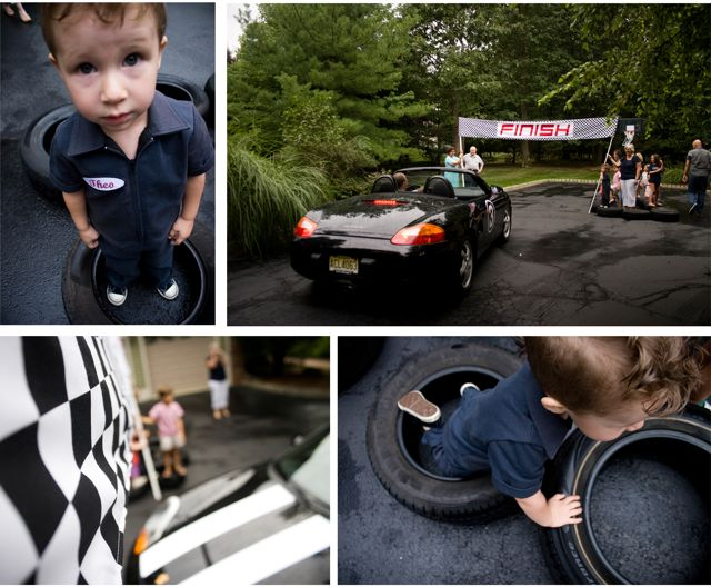 Race car collage 3