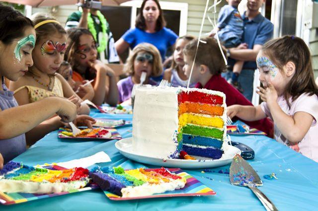 Rainbow party 41