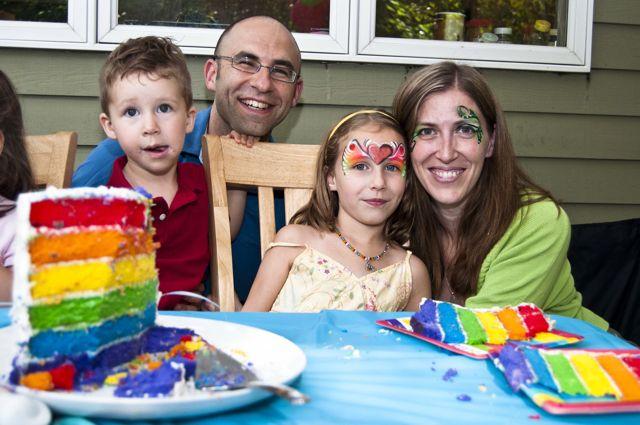 Rainbow party 44