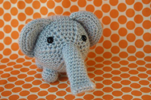 Amagurumi elephant 1