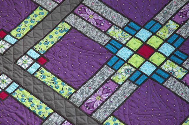 Prairie quilt detail