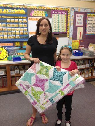Teacher quilt 5
