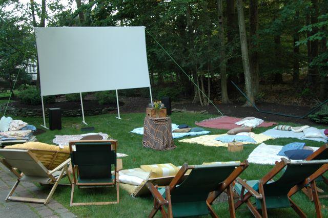 Backyard Movie Theatre juicy bits: 210: backyard movie night