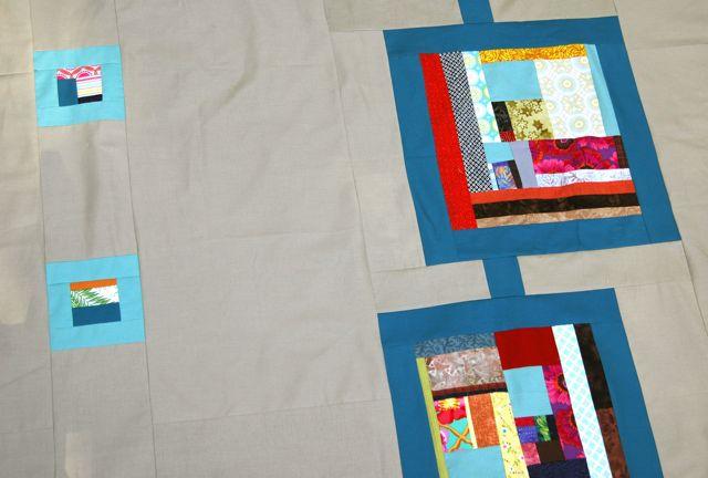 Modern quilt composition 3