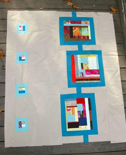 Modern quilt composition 2