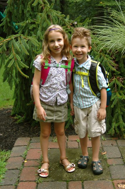 First day of school '12
